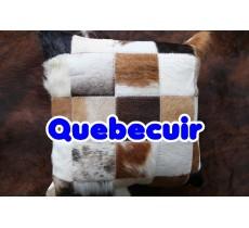 990320 Coussin peau de vache Cowhide pillow
