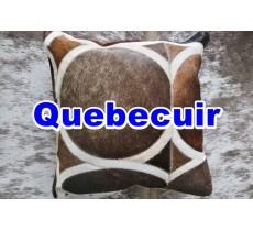 990516 Coussin peau de vache Cowhide pillow
