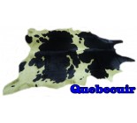 990910 tapis peau de vache cowhide rug GREEN COLOR Collection Quebecuir Premium