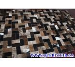 999820 cowhide rug tapis peau de vache