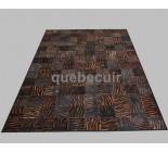 999887 cowhide rug tapis peau de vache PATCHWORK