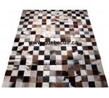 999909 cowhide rug tapis peau de vache PATCHWORK
