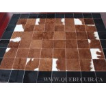 999913 cowhide rug tapis peau de vache PATCHWORK