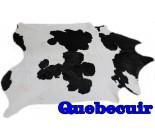 A 10043  Cowhide rug  Tapis peau de vache XXXL   Collection Quebecuir Rustique