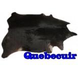 A 10055  Cowhide rug Tapis peau de vache    Collection Quebecuir Premium