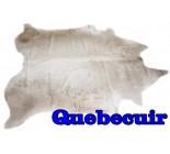 A 10056  Cowhide rug Tapis peau de vache    Collection Quebecuir Premium
