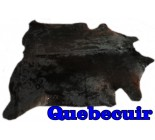 A 10071  Cowhide rug Tapis peau de vache XXL     Collection Quebecuir Premium