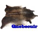 A 10077 cowhide rug tapis peau de vache  Collection Canada Premium