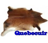 A 10082 Cowhide rug Tapis peau de vache XXL    Collection Quebecuir Rustique