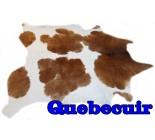 A 10095 Cowhide rug Tapis peau de vache   Collection Quebecuir Premium
