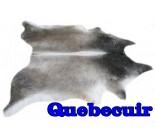 A 10145 cowhide rug tapis peau de vache  Collection Canada Premium