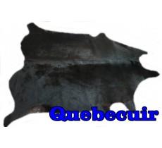 A 10149   Cowhide rug Tapis peau de vache      Collection Quebecuir Premium