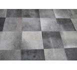 A 10151  cowhide rug tapis peau de vache  PATCHWORK GRIS GREY   Collection Canada Premium