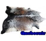 A 10211 Cowhide rug Tapis peau de vache    Collection Quebecuir Rustique