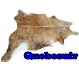 A 10272 cowhide rug tapis peau de vache Collection Canada Premium