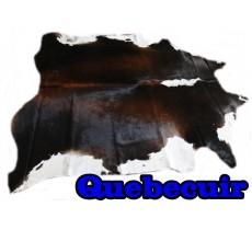 A 10287 Cowhide rug Tapis peau de vache    Collection Quebecuir Premium