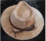 100 % Chapeau western en peau de vache A 10461