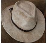 100 % Chapeau western en peau de vache A 10467