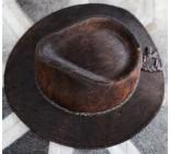 100 % Chapeau western en peau de vache A 10475