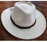 100 % Chapeau western en peau de vache A 10476