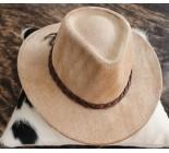 100 % Chapeau western en peau de vache A 10483