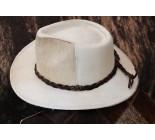 100 % Chapeau western en peau de vache A 10485