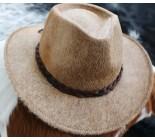 100 % Chapeau western en peau de vache A 10495