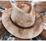 100 % Chapeau western en peau de vache A 10510