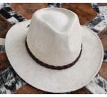 100 % Chapeau western en peau de vache A 10511