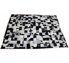 A 10517 Cowhide rug Tapis peau de vache PATCHWORK Collection Quebecuir Premium