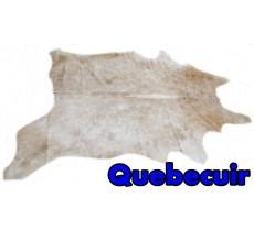 A 10518  Cowhide rug Tapis peau de vache    Collection Quebecuir Premium