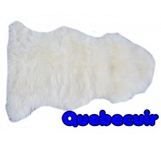 A 10585 Sheepskin rug Tapis peau de mouton Collection Quebecuir Premium