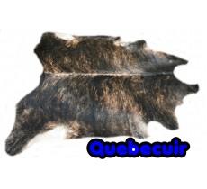 A 20068 Cowhide rug Tapis peau de vache XXL Collection Canada Quebecuir Premium
