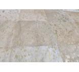 A 31062  Cowhide rug Tapis peau de vache GOLDEN METALLIC PATCHWORK BIG SIZE    Collection Quebecuir Premium