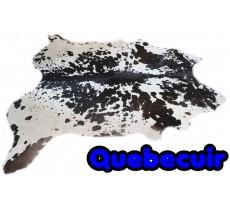 A 32370  Cowhide rug Tapis peau de vache  XXXL Collection Quebecuir Premium