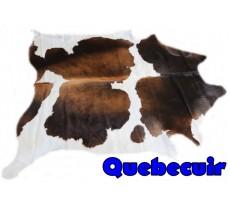 A 9116 Cowhide rug Tapis peau de vache    Collection Quebecuir Premium