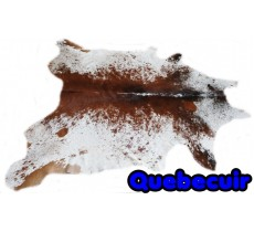 A 9159 Cowhide rug Tapis peau de vache Collection Quebecuir Premium