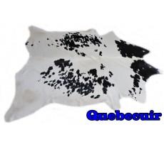 A 9451 Cowhide rug Tapis peau de vache XXXL    Collection Quebecuir Rustique