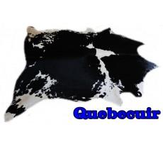 A 9519  Cowhide rug Tapis peau de vache    Collection Quebecuir Premium