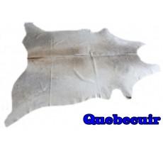 A 9527 Cowhide rug Tapis peau de vache GRIS GREY  Collection Quebecuir Premium
