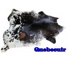 A 9535 cowhide rug tapis peau de vache   Collection Canada Rustique