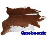 A 9839 Cowhide rug Tapis peau de vache XXXL   Collection Quebecuir Rustique