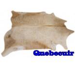 A 9856  Cowhide rug Tapis peau de vache    Collection Quebecuir Rustique