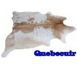 A 9863  cowhide rug tapis peau de vache  XXL Collection Quebecuir  Canada Rustique