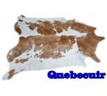 A 9864  cowhide rug tapis peau de vache  XXXL Collection Quebecuir  Canada Rustique