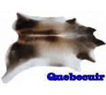 A 9871 Cowhide rug Tapis peau de vache XXXL    Collection Quebecuir Premium