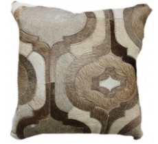 PI 155 Collection Quebecuir Premium Coussin Cowhide   Pillow