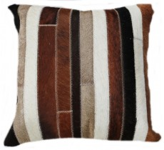 PI 156 Collection Quebecuir Premium Coussin Cowhide   Pillow