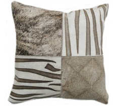 PI 157 Collection Quebecuir Premium Coussin Cowhide   Pillow