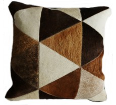 PI 160 Collection Quebecuir Premium Coussin Cowhide   Pillow